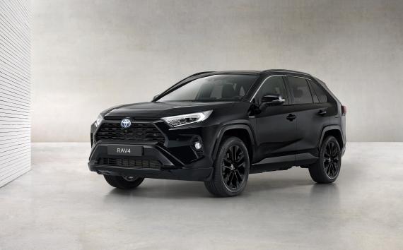 Bemutatkozik a Toyota RAV4 Hybrid Black Edition